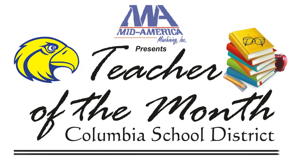 Tacher of the month Columbia
