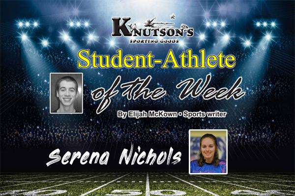 Athlete of the week feature pic template