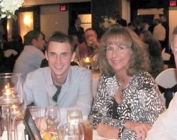 Chris and mom, Julie