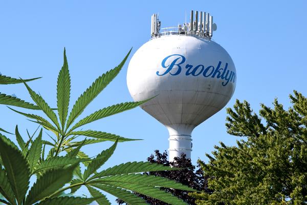 Brooklyn marijuana tower